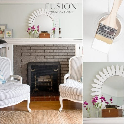 Fusion Mineral Paint in Picket Fence