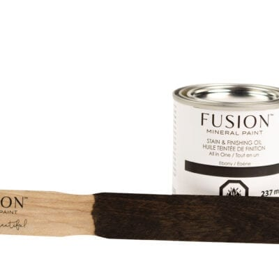 Ebony Stain and finishing oil fusion
