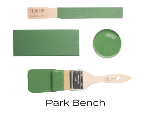 Fusion Mineral Paint in Park Bench