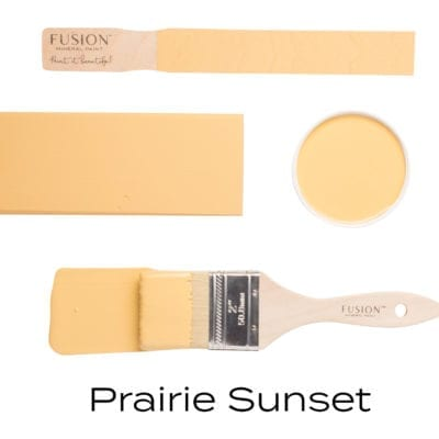 Fusion Mineral Paint in Prairie Sunset