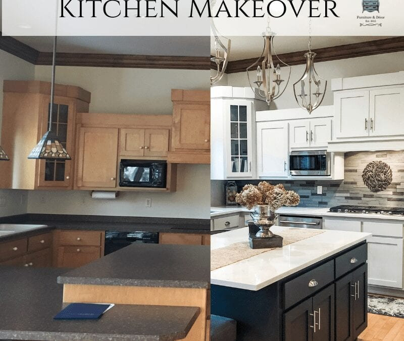Kitchen Makeover using Fusion Mineral Paint