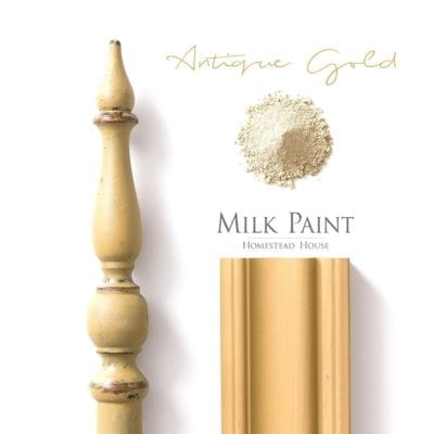 antique gold milk paint
