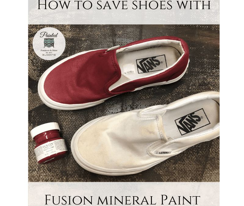 How to save shoes with Fusion paint