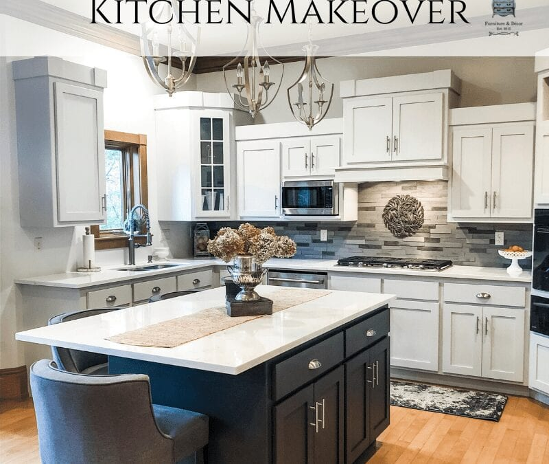 Kitchen Cabinet Makeover with Fusion Mineral Paint