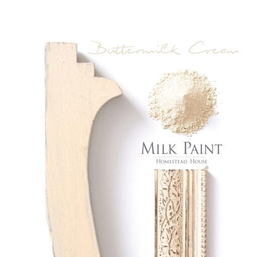 Buttermilk Cream Milk Paint Homestead House Milk Paint