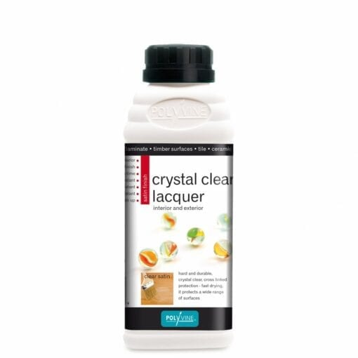 crystal clear lacquer