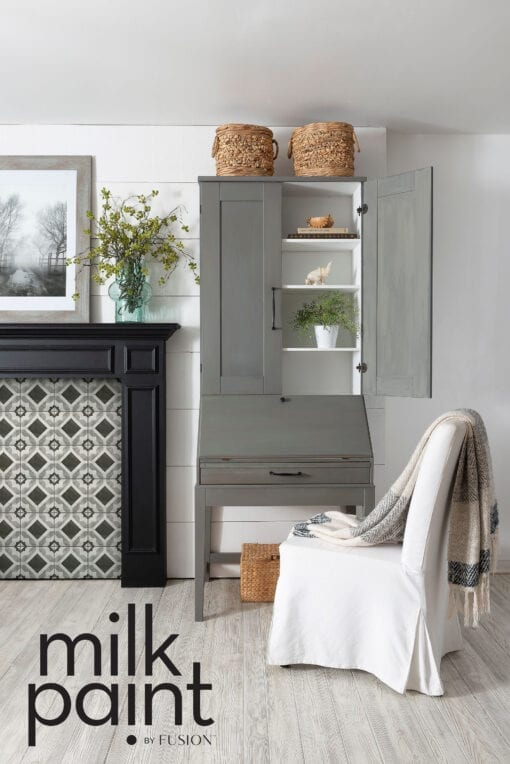 Gotham Grey Fusion Milk Paint