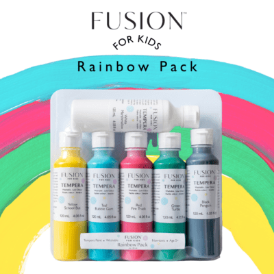 fusion kids tempera paint kit