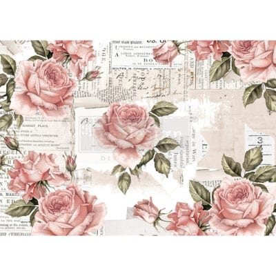 floral sweetness rice paper