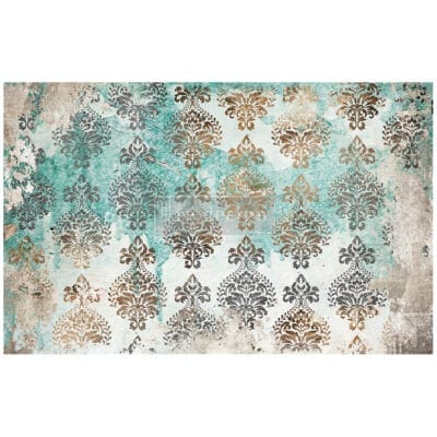Patina Flourish Tissue Paper