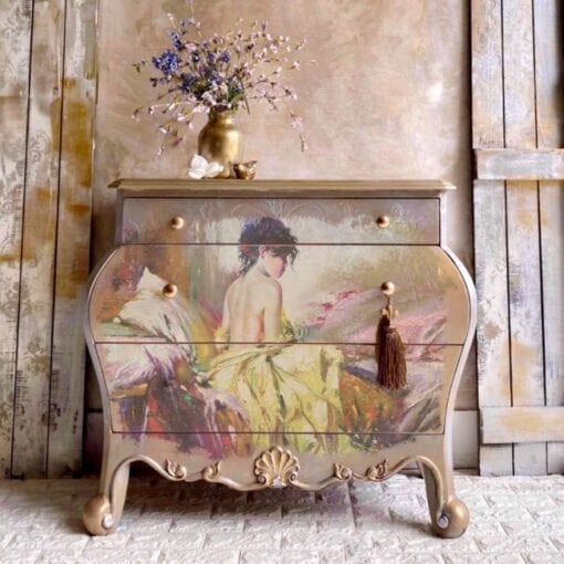 Peaceful Redesign A1 Decoupage Rice Paper (Mulberry Tissue Paper)