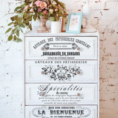 French Specialties Decor Transfer Redesign by Prima