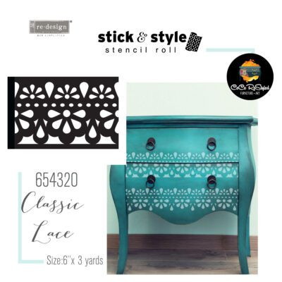 CeCe Restyled Classic Lace Stick & Style Stencil
